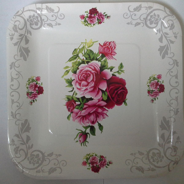 floral paper plates & floral paper plates - China Main Resource