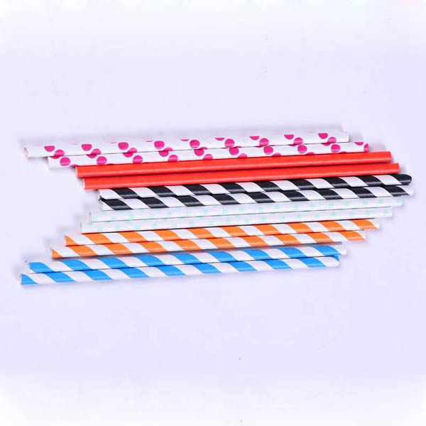 stripe design Paper Straw