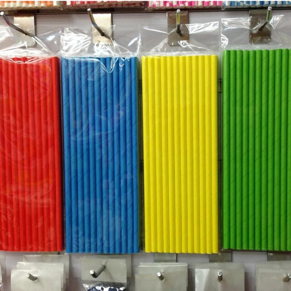 Eco-friendly paper drinking straw