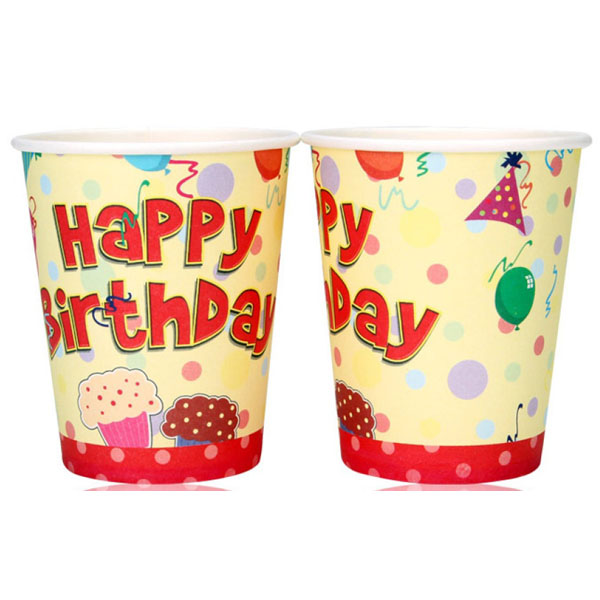 Paper Cup for Birthday