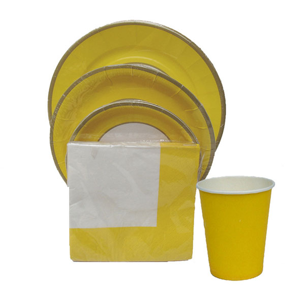Cheap paper tableware