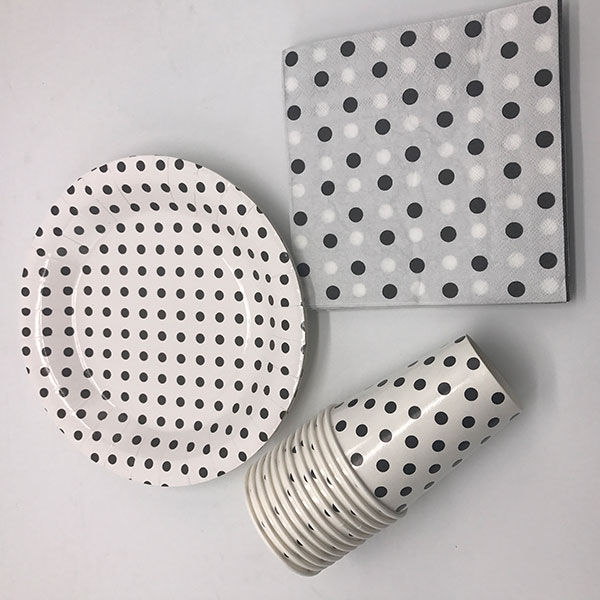 Eco-friendly paper tableware